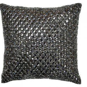 Cluster Cushion Copper Black