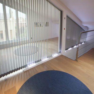 cortina vertical polyscreen 314 del fabricante español Bandalux