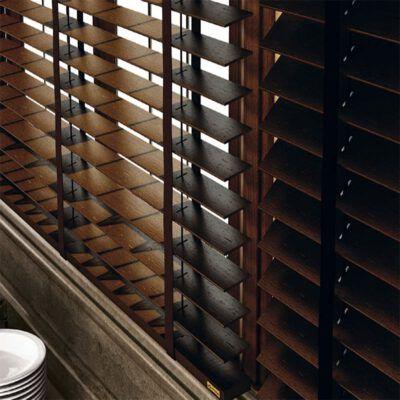 cortina veneciana de madera smart