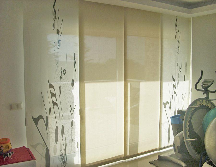 paneles japoneses personalizados