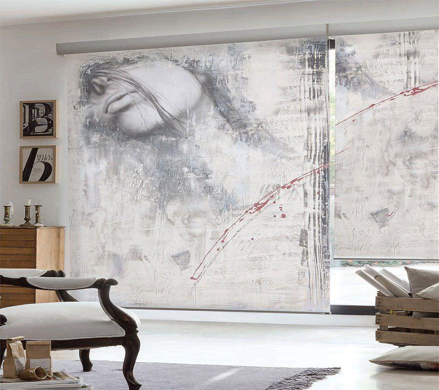 Estores y cortinas con impresión digital
