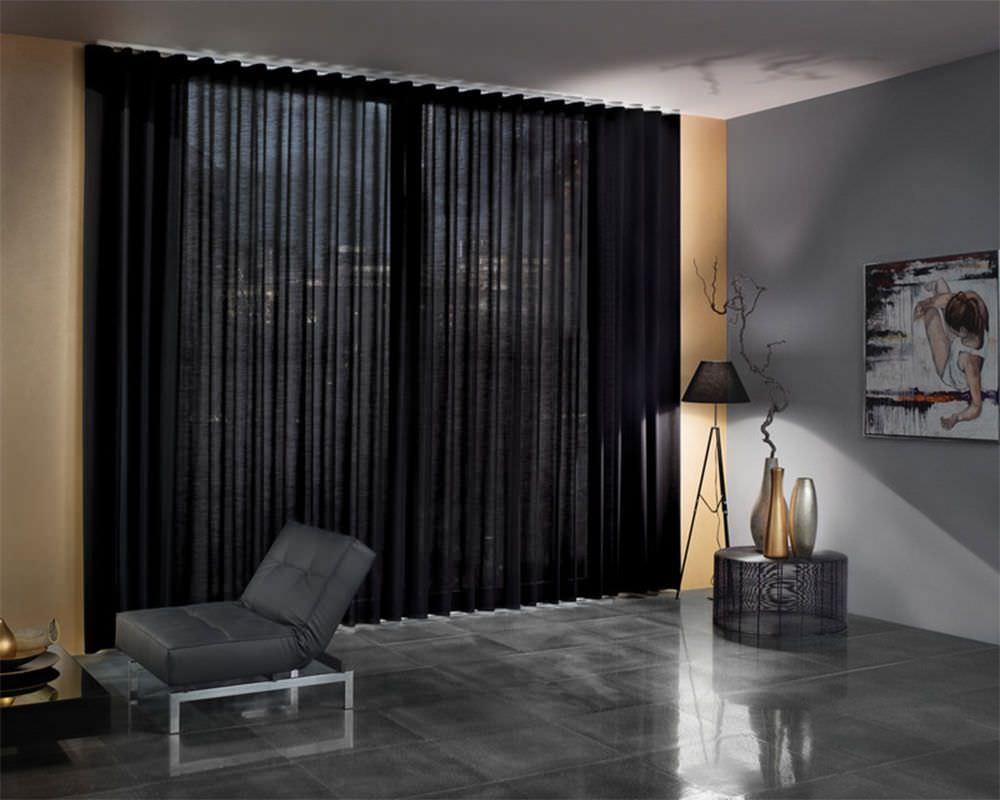cortinas de onda perfecta para salones