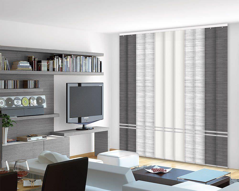 cortina vertical de salón